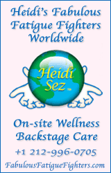heidis fabulous fatigue figters. backstage wellness, massage, chiro